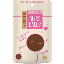 Photo of Bumper Bliss Balls Cranberry Raspberry 70g