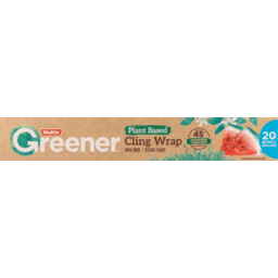 Photo of Multix Greener Plant Based Cling Wrap 20m X 33cm