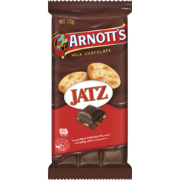 Photo of Arnott's Arnott'S Chocolate Block Jatz 170g