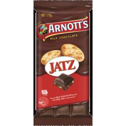 Photo of Arnott's Arnott'S Chocolate Block Jatz 170g
