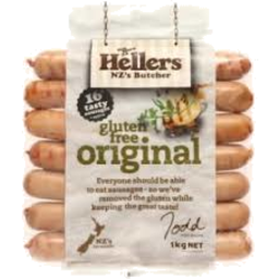 Photo of Hellers Gluten Free Sausages 2kg