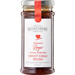 Photo of Berenberg Sweet Chilli Relish 280gm