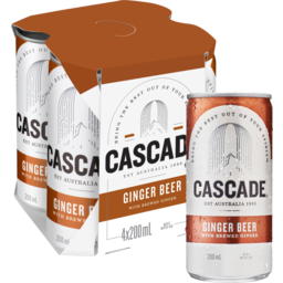 Photo of Cascade Carbonate Ginger Beer Can