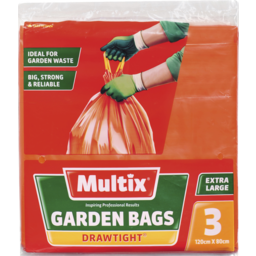 Photo of Multix Drawtight Garden Bags 3 Pack