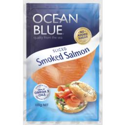 Photo of Ocean Blue Smoked Salmon 100g
