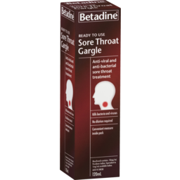 Photo of Betadine Sore Throat Gargle Ready To Use 120ml