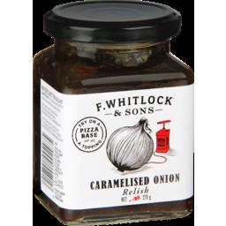 Photo of Whitlocks Chutney Caramelised Onion 275g 275g