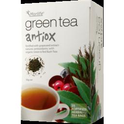 Photo of Morlife - Green Tea Antiox - 25 Tea Bags