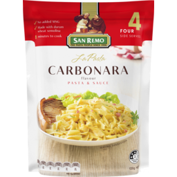 Photo of San Remo La Pasta Carbonara 120g