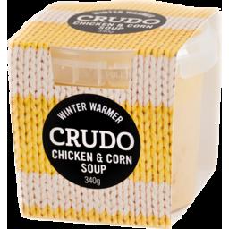 Photo of Crudo Winter Warmers Soup Chicken & Corn 340g