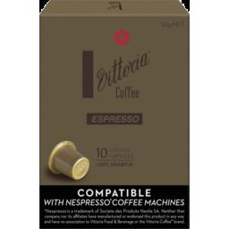 Photo of Vittoria Coffee Espresso Capsules 10pk