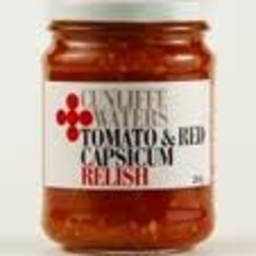 Photo of Cunliffe & Waters Tomato & Red Capsicum Relish 260g