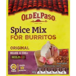 Photo of Old El Paso Spice Mix Burrito 40g