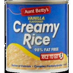 Photo of Aunt Bettys Creamy Rice Vanilla 220g