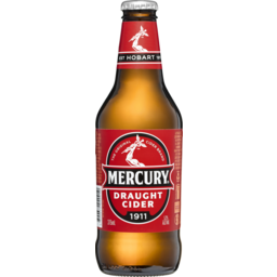 Photo of Mercury Cider Draught Bottles