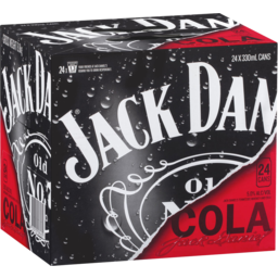 Photo of Jack Daniel's & Cola Cans