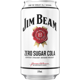Photo of Jim Beam White & Zero Cola Can