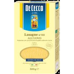 Photo of De Cecco Lasagne No 112 all'uovo 500g