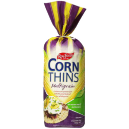 Photo of Real Foods Corn Thins Multigrain 150g