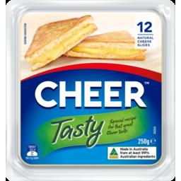 Photo of Cheer Tasty Sliced Cheese 250g