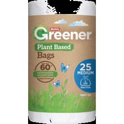 Photo of Multix Greener Plant Based Kitchen Tidy Bag Medium 25pk