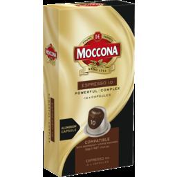 Photo of Moccona Coffee Capsules Espresso 10pk