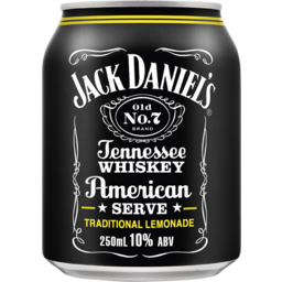 Photo of Jack Daniel Old No.7 American Serve & Lemonade Can