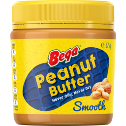 Photo of Bega Peanut Butter Smooth 375gm