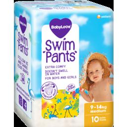 Photo of Babylove Swim Pants Medium 9-14kg 10 Pack