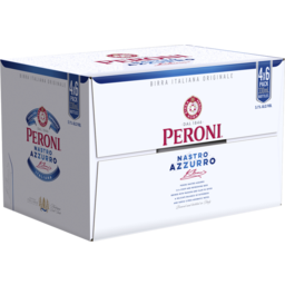 Photo of Peroni Nastro Azzurro 24 X 330ml Bottle Carton