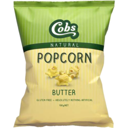 Photo of Cobs Nat P/Corn Butter 100gm