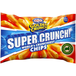 Photo of Birds Eye Golden Crunch Supercrunch Chips 750gm