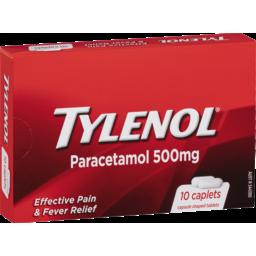 Photo of Tylenol Paracetamol 10.0x500mg