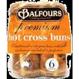 Photo of Balfours H/Crss Buns C/Chp 450g