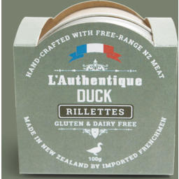 Photo of L'Authentique Rilettes Duck 100g