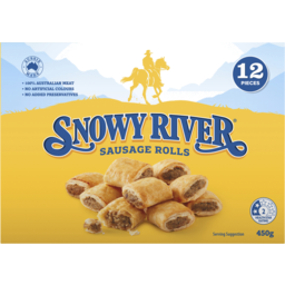 Photo of Snowy River Party Sausage Rolls 12pk 450g
