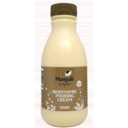 Photo of Mungalli Creek Cream Pouring Bio Dynamic Lactose Free 500ml