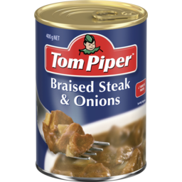 Photo of Tom Piper Braised Steak & Onion 400g