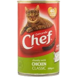 Photo of Chef Cat Food Chunky Chicken 690g