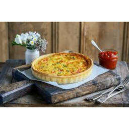 Photo of Paneton Onion Goat Quiche