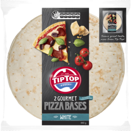 Photo of Tip Top® 2 Gourmet Pizza Bases White