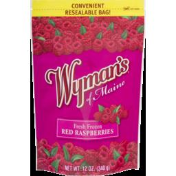 Photo of Wyman's Of Maine Fresh Frozen Red Raspberries