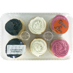 Photo of Iced Mixed Cup Cakes 6 Pack