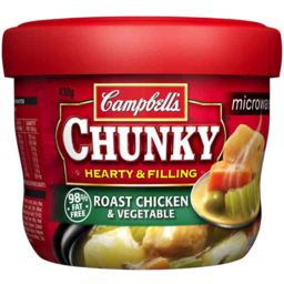 Photo of Campbells Soup Chunky Roast Chicken Vegetables 505gm