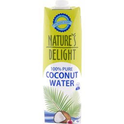Photo of Natures Delight Coconut Water 1l