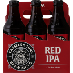 Photo of Cassels Red IPA 6 Pack