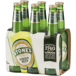 Photo of Stones Premium Alcoholic Ginger Beer Stubbies