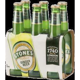 Photo of Stones Premium Alcoholic Ginger Beer Stubbies