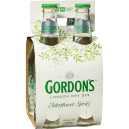 Photo of Gordon's Elderflower Spritz Bottles