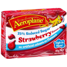 Photo of Aeroplane Jelly Reduced Sugar Strawberry 85g
